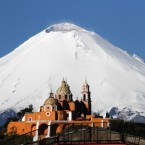 Puebla: enclosure of volcanoes