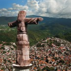 Taxco, minning and viceroyalty join in a city.