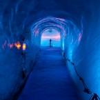 Мер-де-Глас : курорт в Альпах и  самый большой ледник Франции