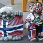 Сувениры из Швейцарии и Норвегии