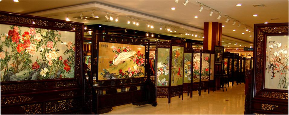 The Museum provides a history of silk manufacture