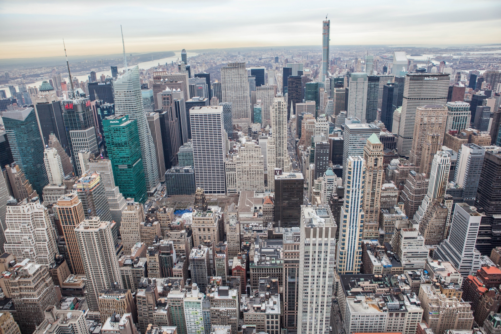 Enjoy sightseeing NYC from the Main Observation Deck