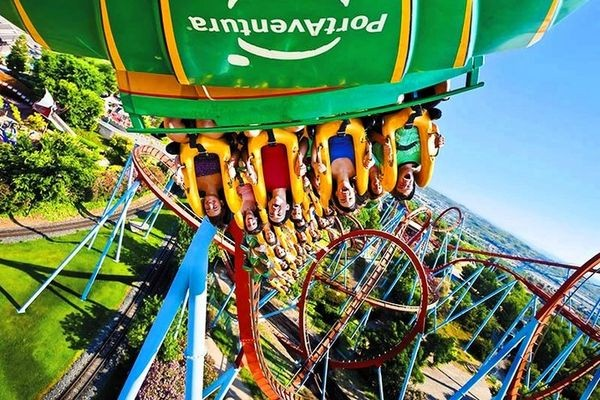 Spanish Port Aventura has more than 40 amusement rides, a water park and much more