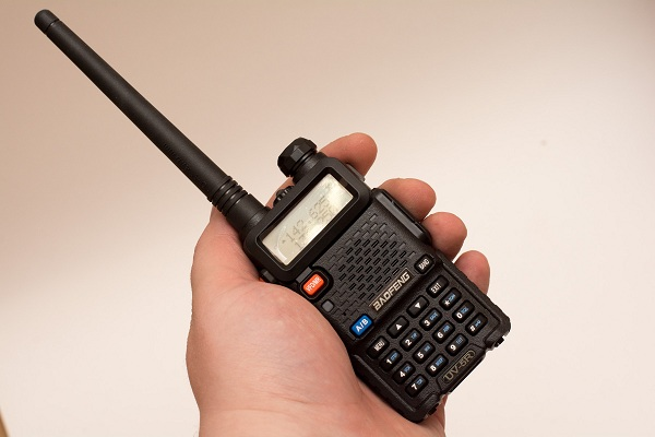 A walkie-talkie can be used if you are traveling in several vehicles to communicate on the way