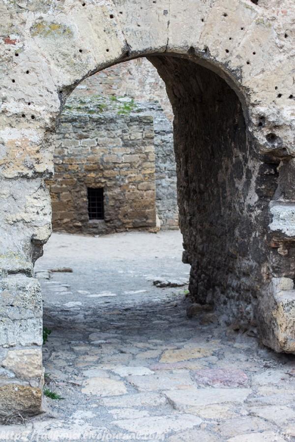 Аккерманская крепость внутренний двор