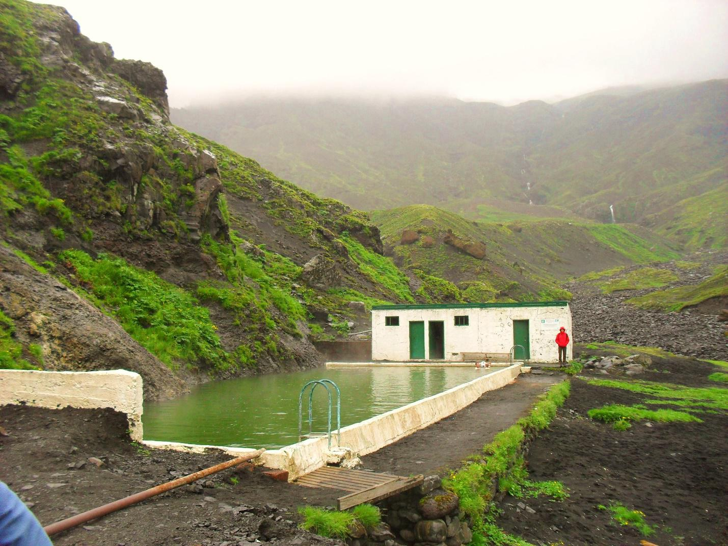 Iceland is located on one of the earth's hot spot resulting to the high level of geothermal activity.