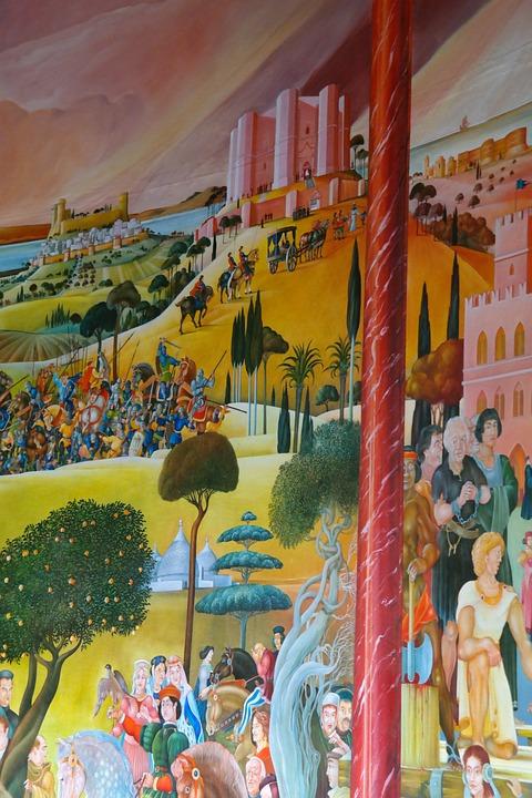 Federico II il meridione italiano, di fatto