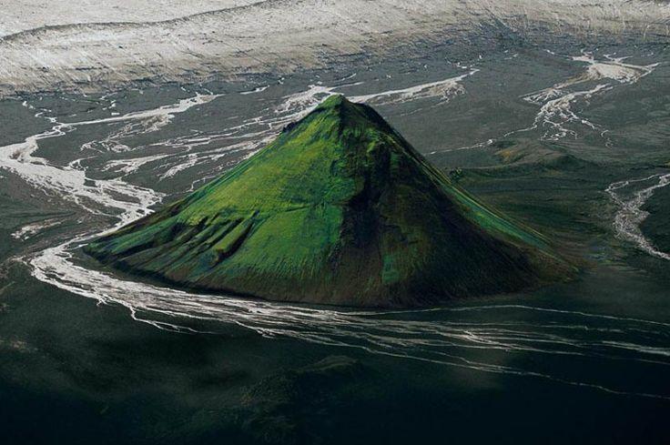 Mýrdalsjökull glacier volcano